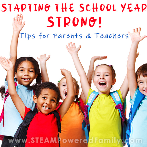 Start The School Year Strong