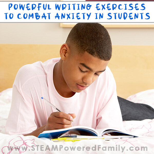 Writing exercises to help student anxiety