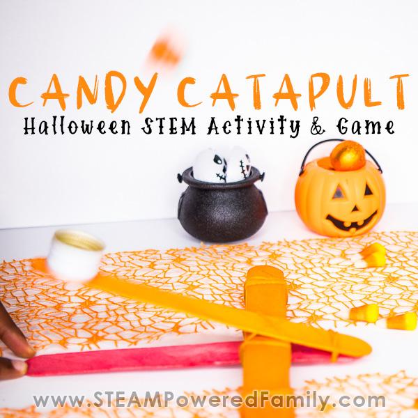 Candy Catapult – Halloween STEM Activity