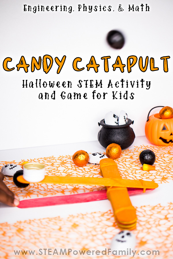 Candy Catapult Halloween STEM Activity