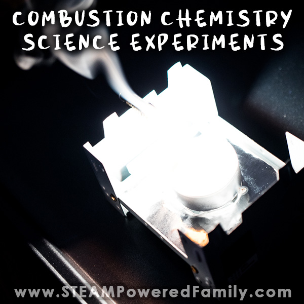 Burning Magnesium Science Experiment