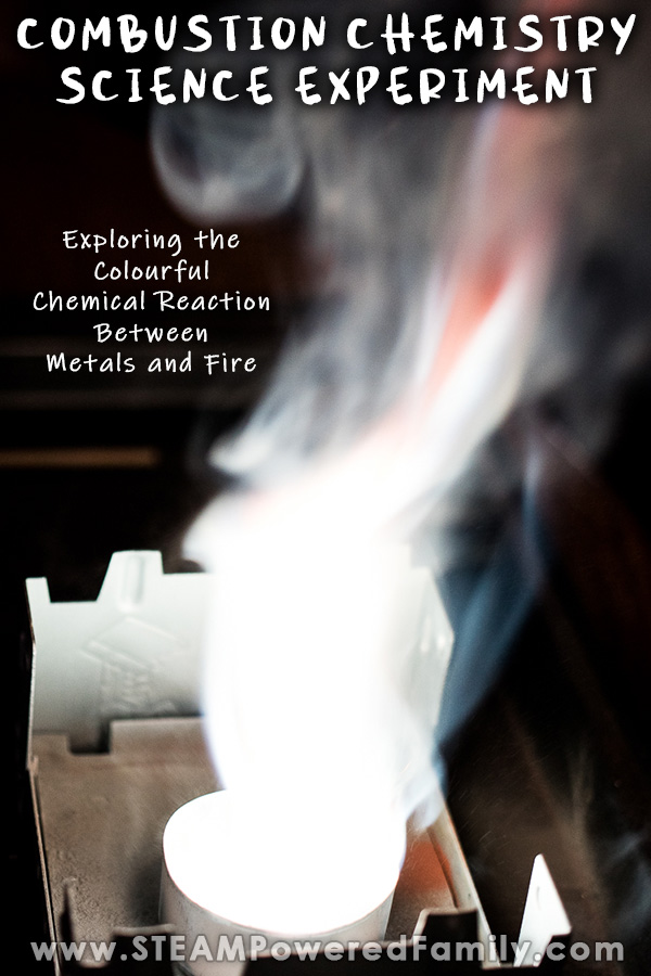 Combustion Chemistry Science Experiment for Middle Grade