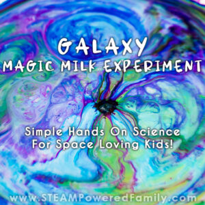 Galaxy Magic Milk Experiment