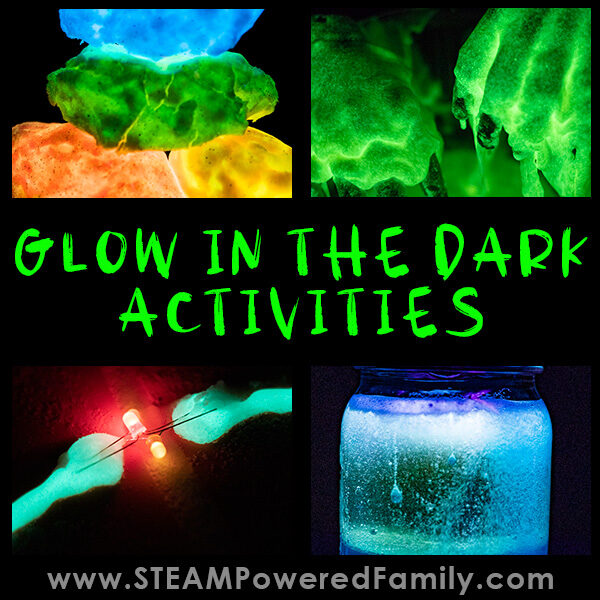 Glow in the Dark Activities and Science