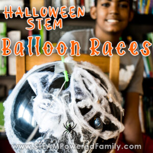 Halloween Physics Balloon Races