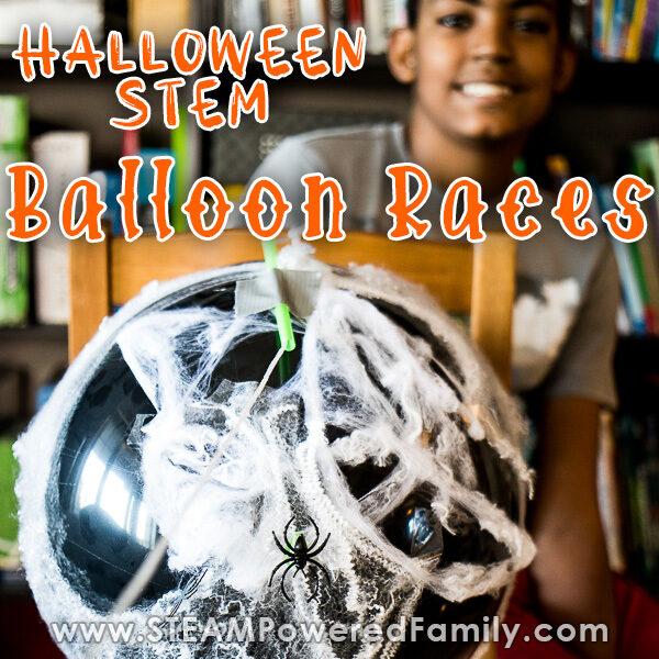 Halloween Physics Balloon Races