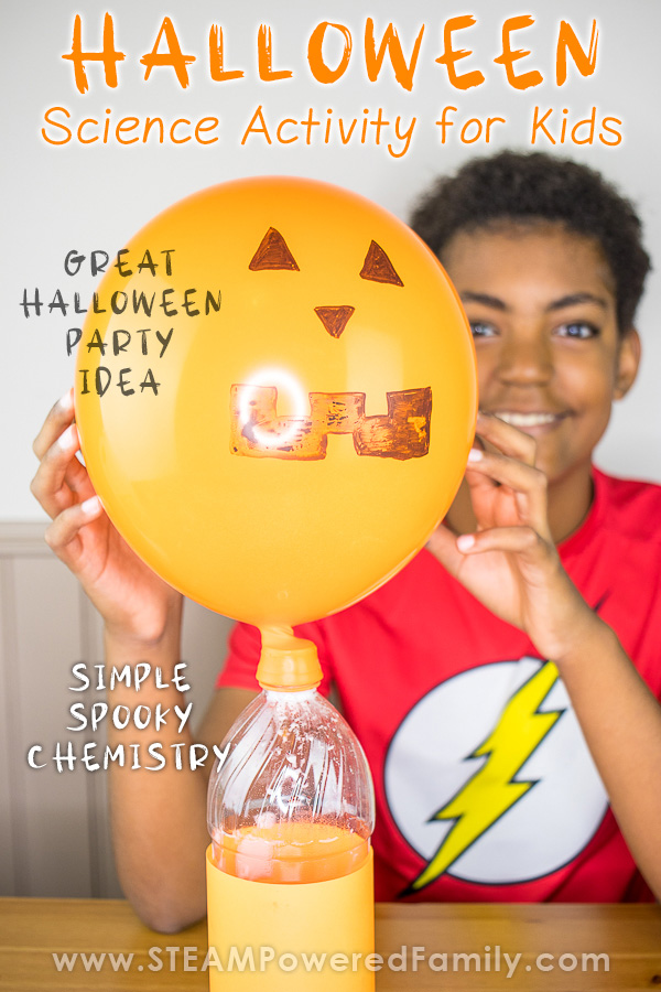 Halloween Chemistry Experiment and STEAM Activity