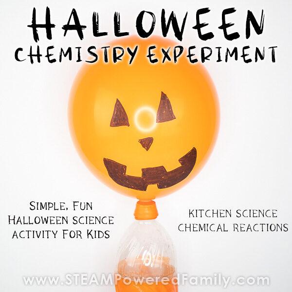 Halloween Balloon Science Activity for Kids