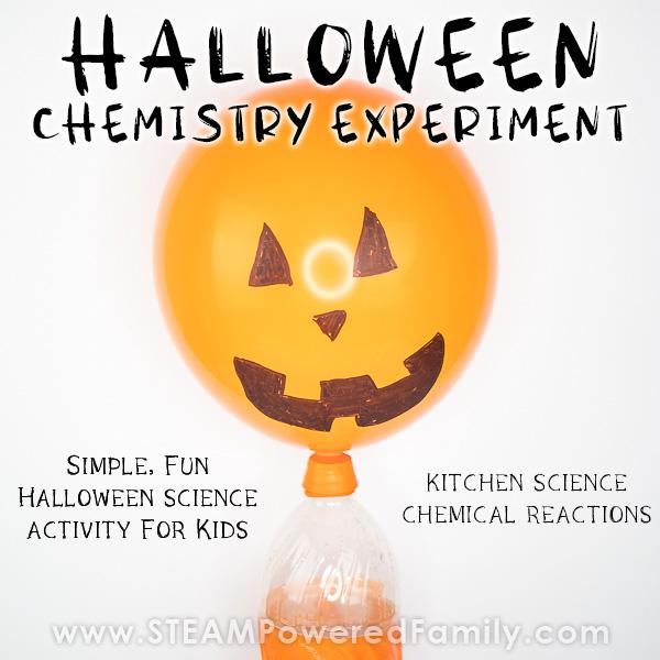 Spooky Halloween Balloon Science