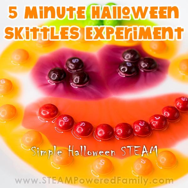 Halloween Skittles Experiment