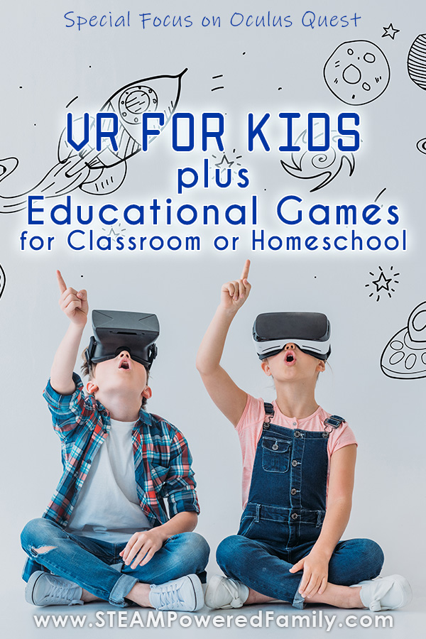 VR for Kids with Educational Games for Oculus Quest