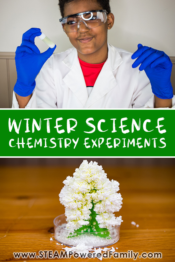 MEL Science Winter Snow Chemistry Experiments
