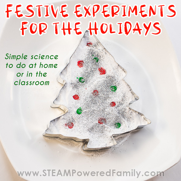 Christmas Chemistry Experiment for Kids