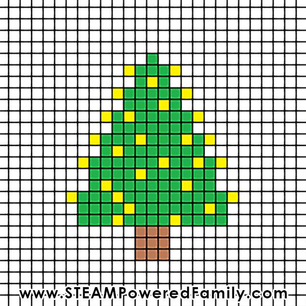 Christmas Cross Stitch Template