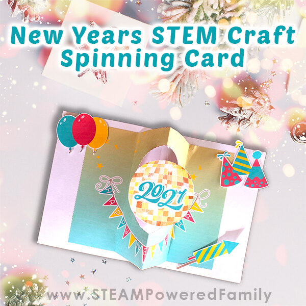New Years STEM Card