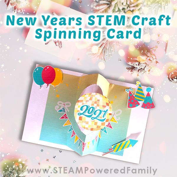 New Years STEM Card