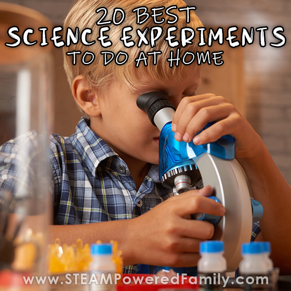 Doing Science At Home