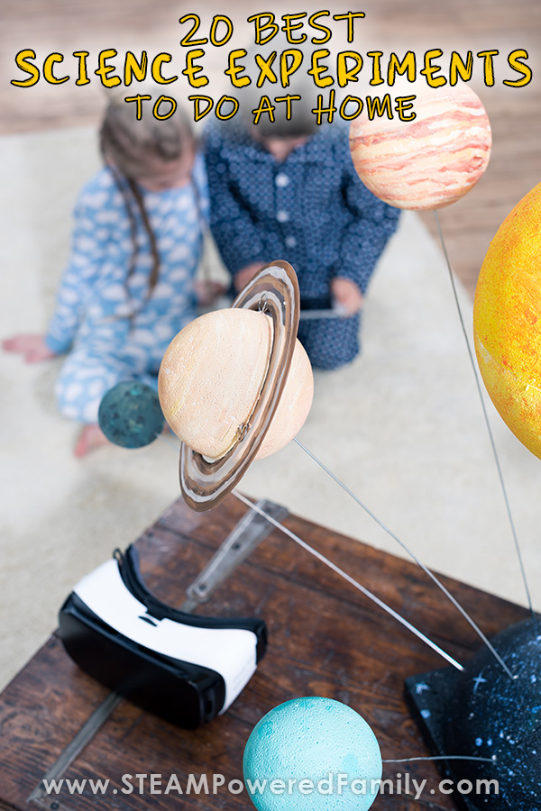 Best at home science experiments
