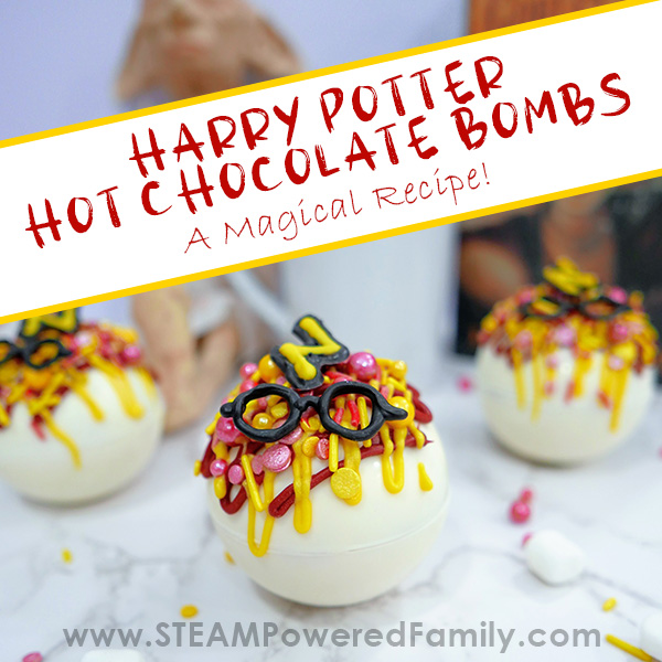 Harry Potter Inspired Hot Chocolate Bombs