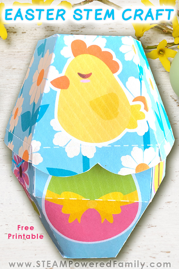 Easter STEM Craft - Build an Easter Treat Box
