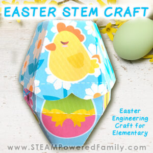 Easter STEM Craft - Easter Treat Box