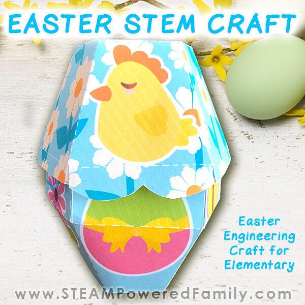 Easter STEM Craft - Easter Treat Box