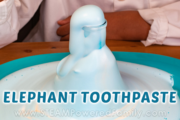 Elephant Toothpaste Science Experiment