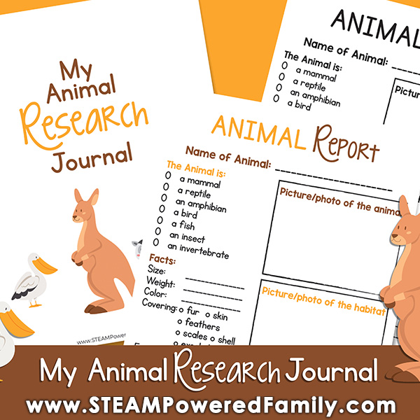 Research Journal Printable Pages