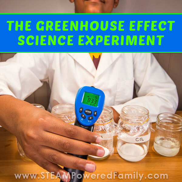 Greenhouse Effect Science Experiment