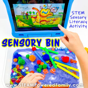 Construction STEM Sensory Bin