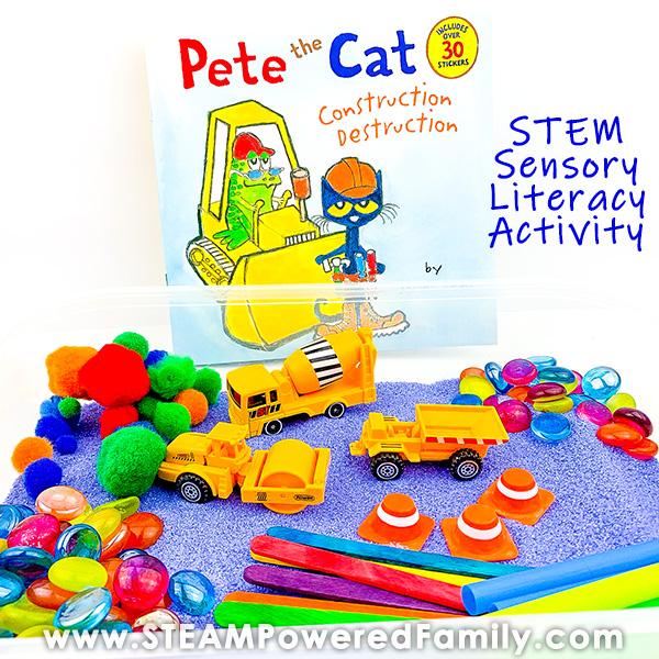 Pete the Cat Sensory Activity