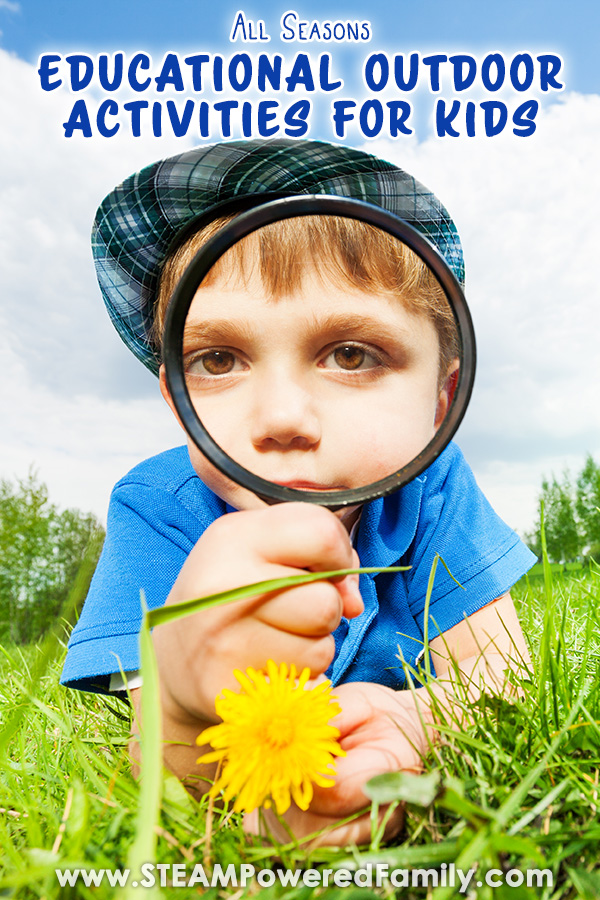 Outdoor Classroom and Summer Camp Ideas for Kids