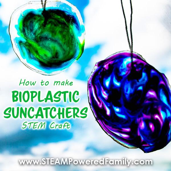 How To Make A Bioplastic Suncatcher