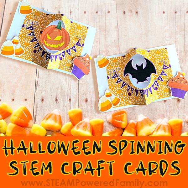 Halloween Card STEM Craft