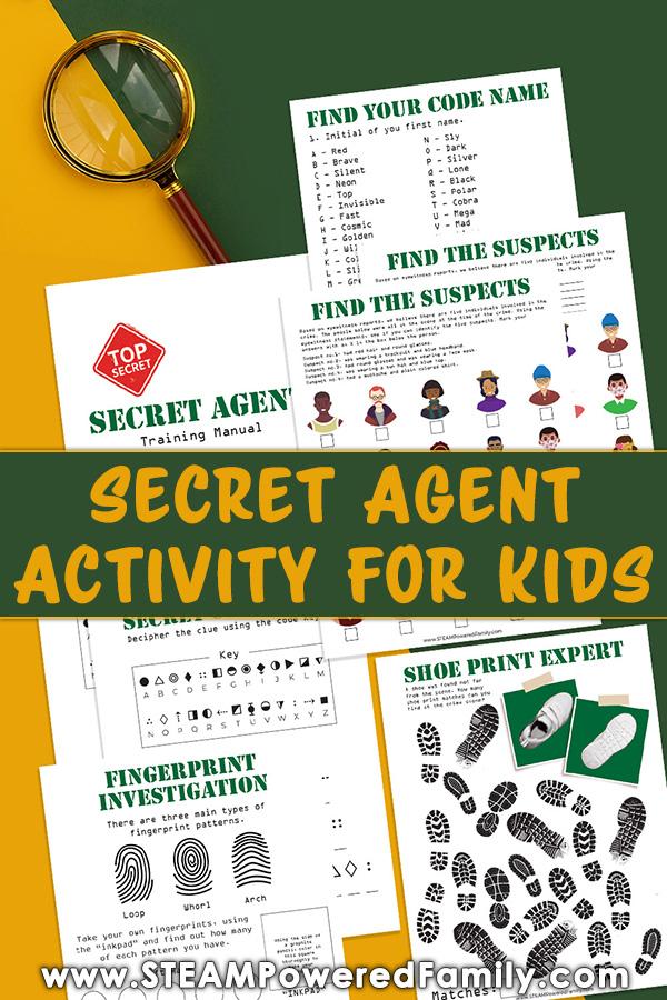 Crime Scene Activity for Kids