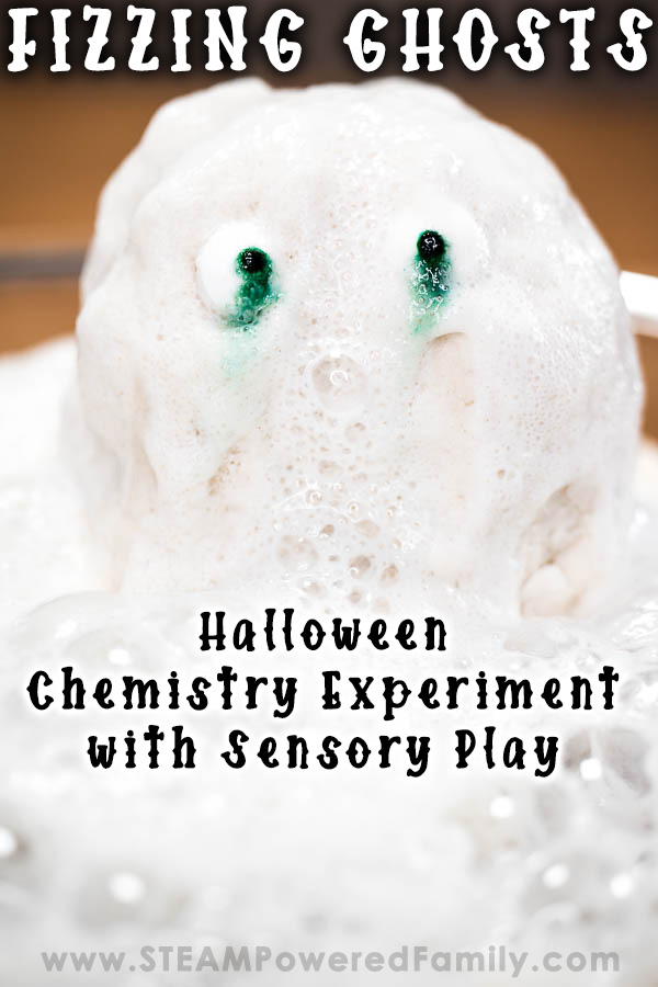 Fizzing Ghosts Halloween Sensory Science