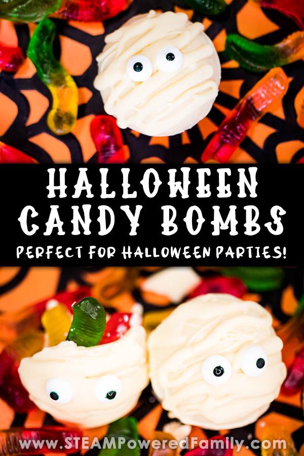 Halloween Candy Bombs