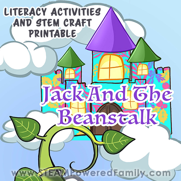 Jack & The Beanstalk Printable STEM Craft