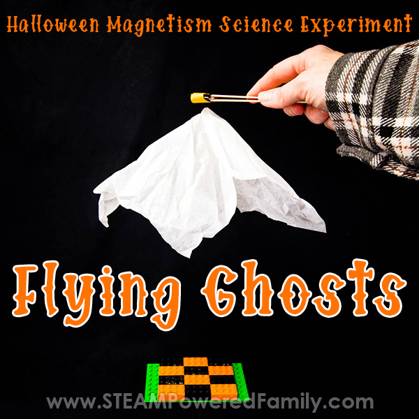 Magnetic Flying Ghosts Science Experiment