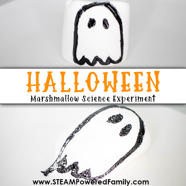 Halloween Marshmallow Science Experiment