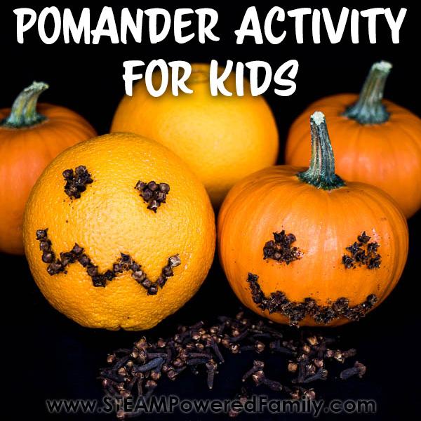 Pomander Activity for Kids