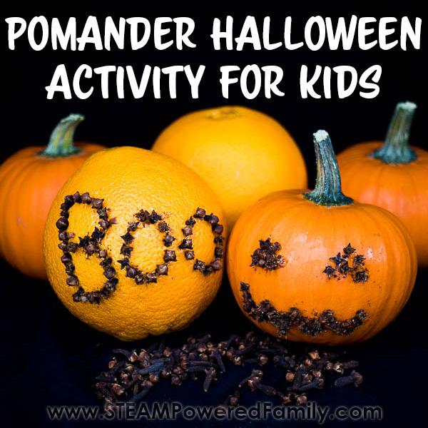 Pomander Project for Kids